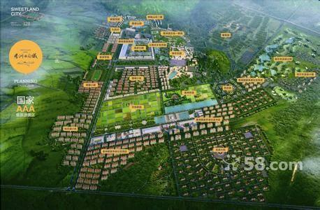 香洲田园城的整体规划 - 香洲田园城大连温泉旅游度假
